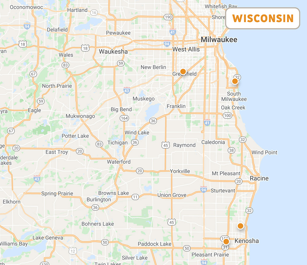 Wisconsin Locations